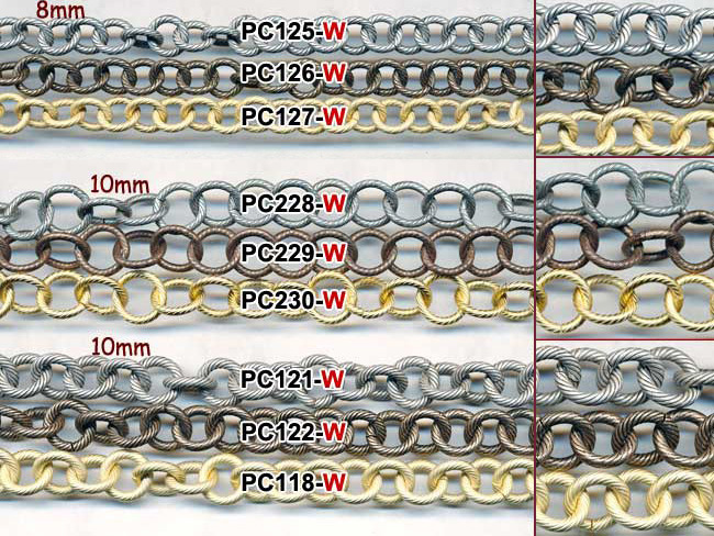 Small Cable Link Chains