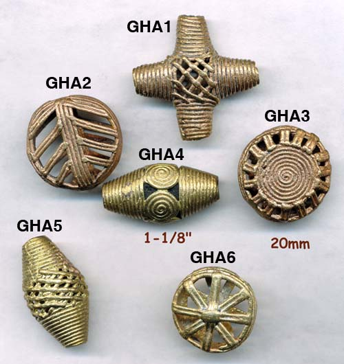 import, Ghana, handmade African trade beads