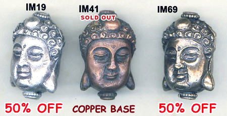 import, Nepal, handmade, bead, buddha, sterling silver, copper, bronze