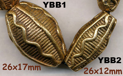 import, Africa, Yoruba, handmade, brass beads, large, small